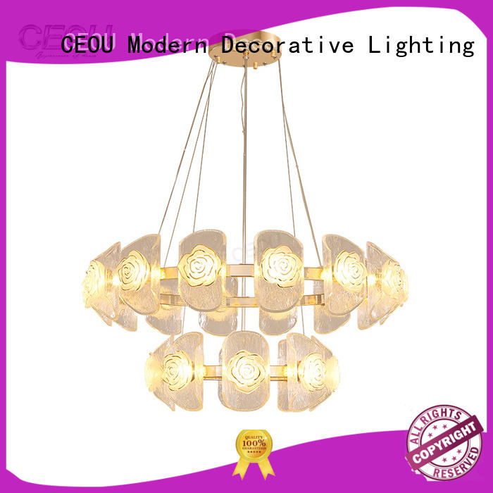 CEOU circular hanging pendant lights supplier for living room