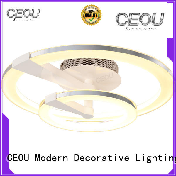 round circular led ceiling light supplier for bedroom CEOU
