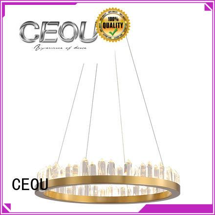 acrylic chandelier light linear for home decor CEOU