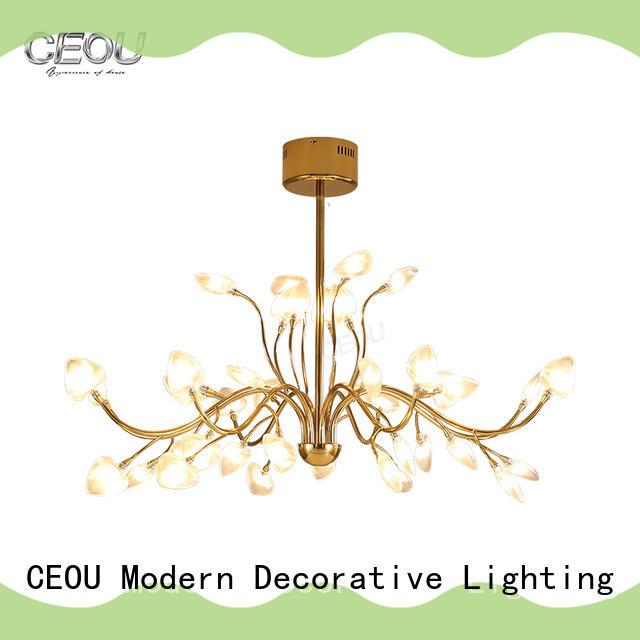 CEOU romantic commercial led pendant light fixtures factory for living room