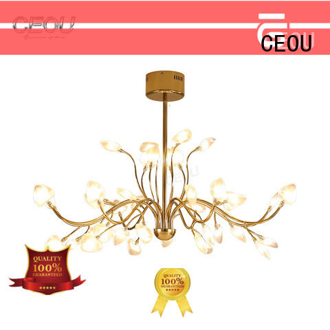 CEOU beautiful glass pendant lights for kitchen amazing for home decor