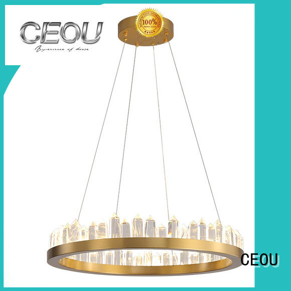 CEOU extraordinary linear pendant lighting supplier for hotel