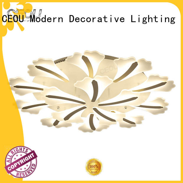 romantic ceiling led panel light acrylic high quality for home decor