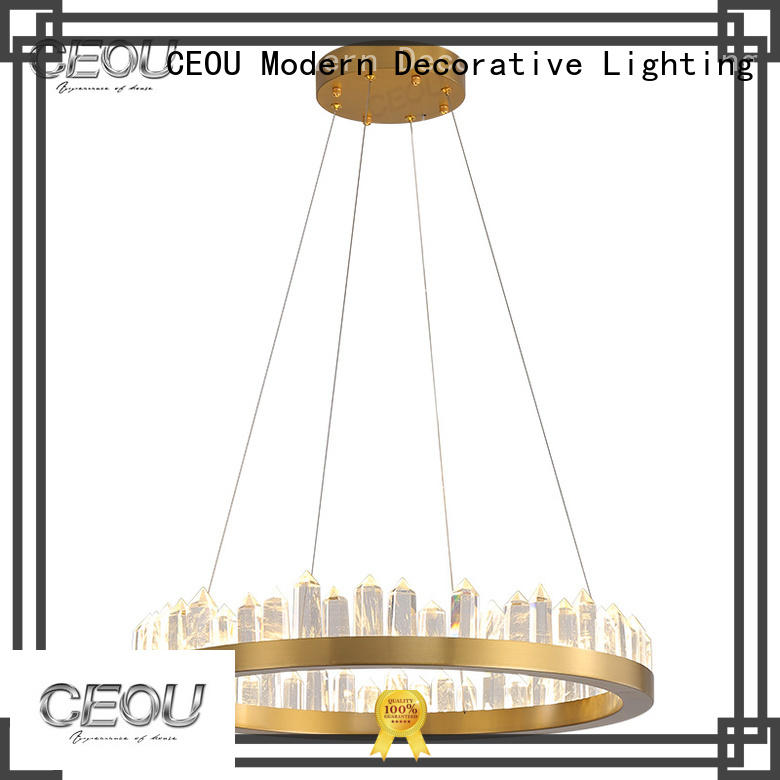 CEOU aluminum hanging pendant lamp Suppliers for living room
