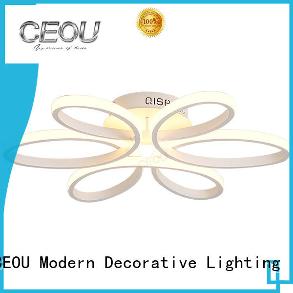 gold led ceiling lamp customized for bedroom CEOU