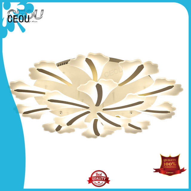 CEOU beautiful ceiling light fixture supplier for home decor