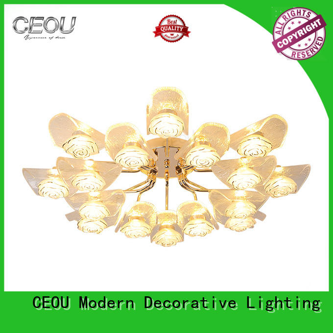 CEOU luxury ceiling led panel light customized for living room