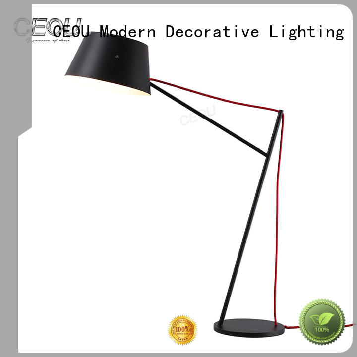 CEOU high temperature painting finish bedside table lamps fancy