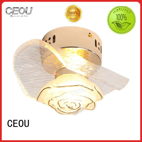 CEOU flower led wall sconce high quality for bedroom