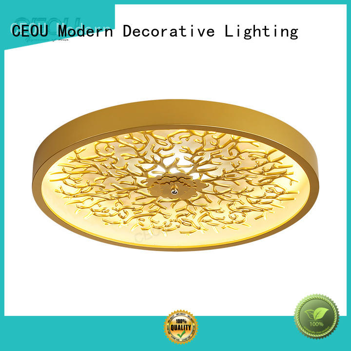 High-quality led kitchen ceiling lights gold customized for home decor