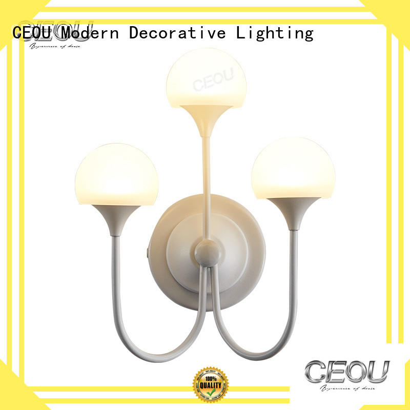 CEOU clear led wall sconce high quality for home decor