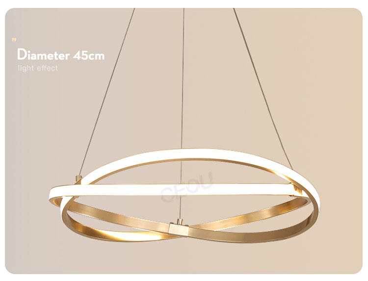 CEOU acrylic hanging pendant lights supplier for dinning room-1