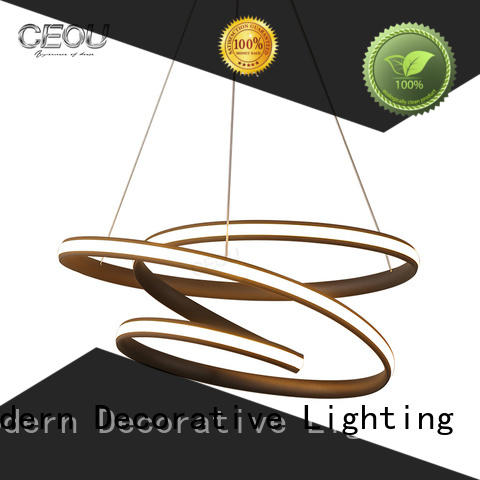CEOU beautiful commercial pendant lights manufacturer for hotel