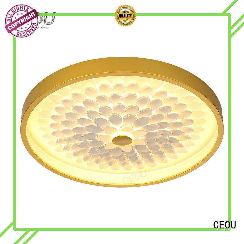 CEOU acrylic led ceiling light fixtures manufacturer for living room