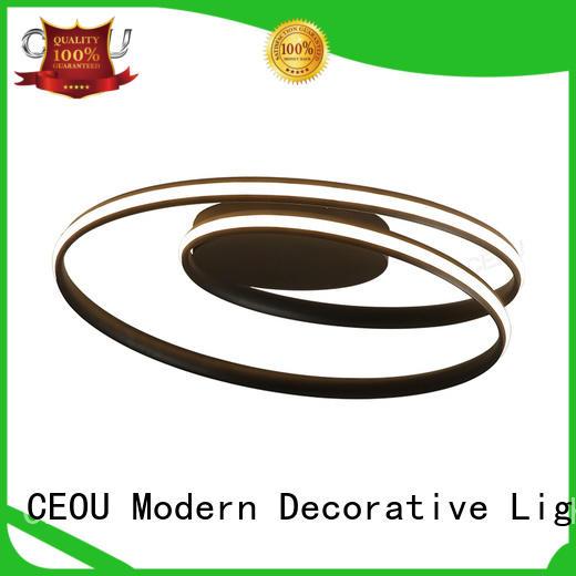 CEOU linear modern ceiling lights manufacturer for bedroom