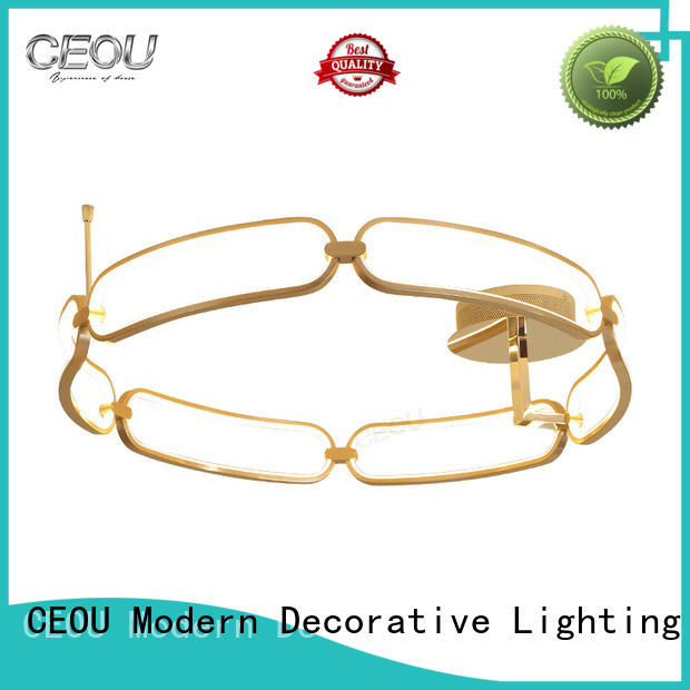 contemporary modern ceiling lights living room acrylic supplier for living room
