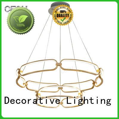 CEOU linear pendant light fixtures customized for hotel