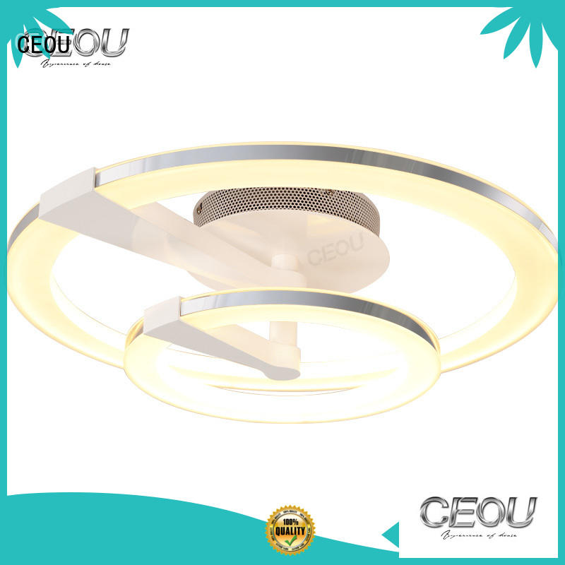 CEOU gold modern ceiling light company for bedroom