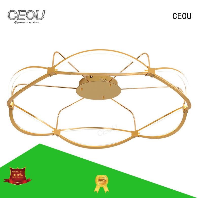 CEOU sand black modern led ceiling lights supplier for home decor