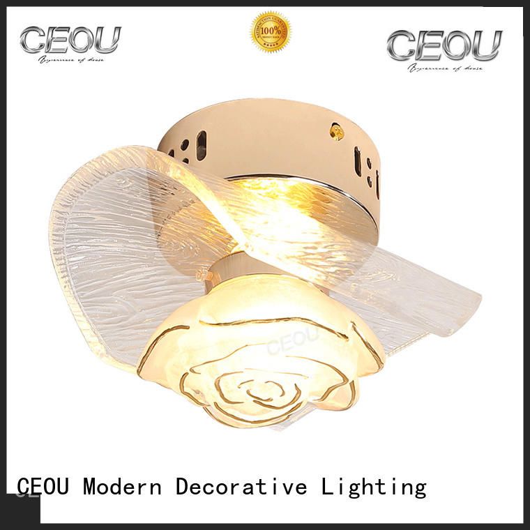 CEOU clear wall sconce manufacturers for home decor