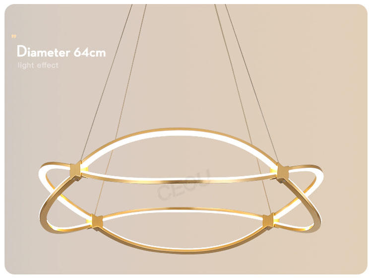 CEOU luxury hanging lamps for living room manufacturer for hotel-3