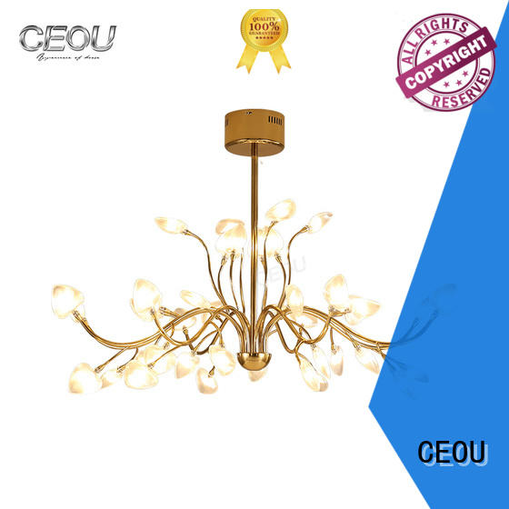 CEOU simple commercial linear pendant lighting factory for hotel