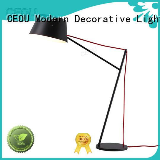 CEOU circle ring modern table lamp customized