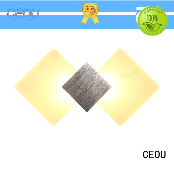 CEOU indoor modern wall sconces supplier for aisle
