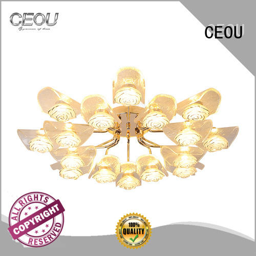 romantic modern ceiling light acrylic high quality for living room