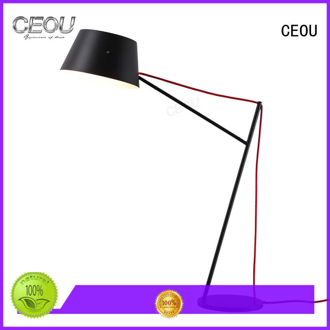 Latest contemporary desk lamp high temperature painting finish customized for bedroom