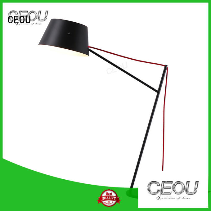 CEOU circle ring bedside table reading lamps company for residential