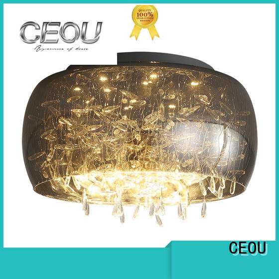 CEOU beautiful led ceiling lamp manufacturer for hotel
