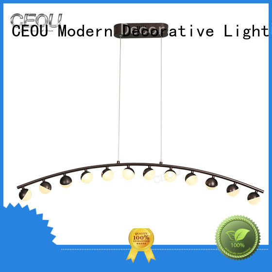 CEOU aluminum hanging pendant lights customized for dinning room