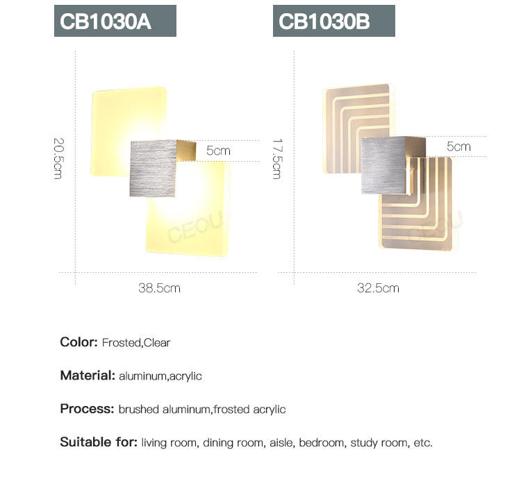 CEOU indoor modern wall sconces supplier for aisle-3