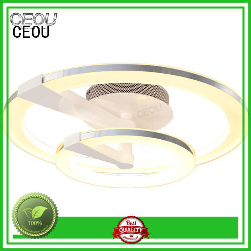glass modern ceiling light fixtures supplier for hotel CEOU