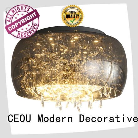 CEOU aluminum circular led ceiling light Supply for hotel