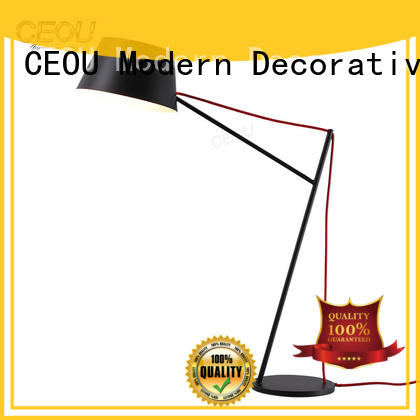 high temperature painting finish modern style table lamps supplier for office CEOU