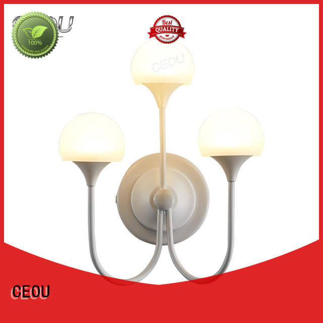 CEOU flower bathroom wall light sconces high quality for aisle