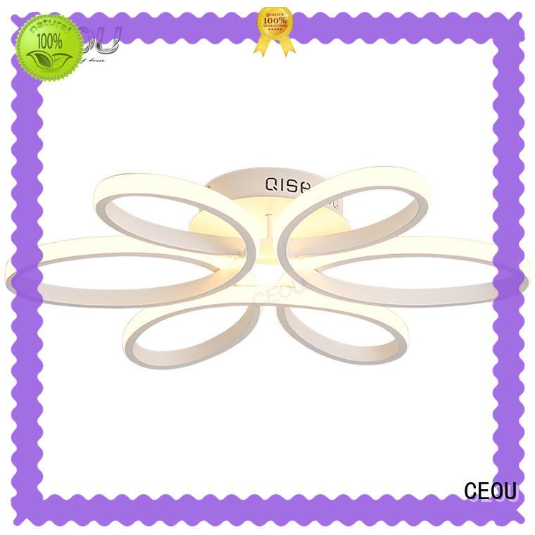 CEOU sunflower pattern ceiling light design manufacturer for bedroom