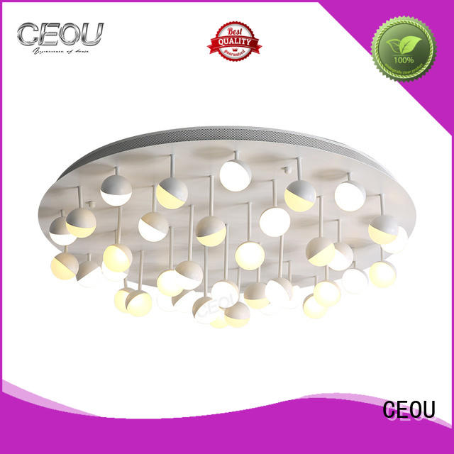 CEOU contemporary led ceiling lamp customized for hotel