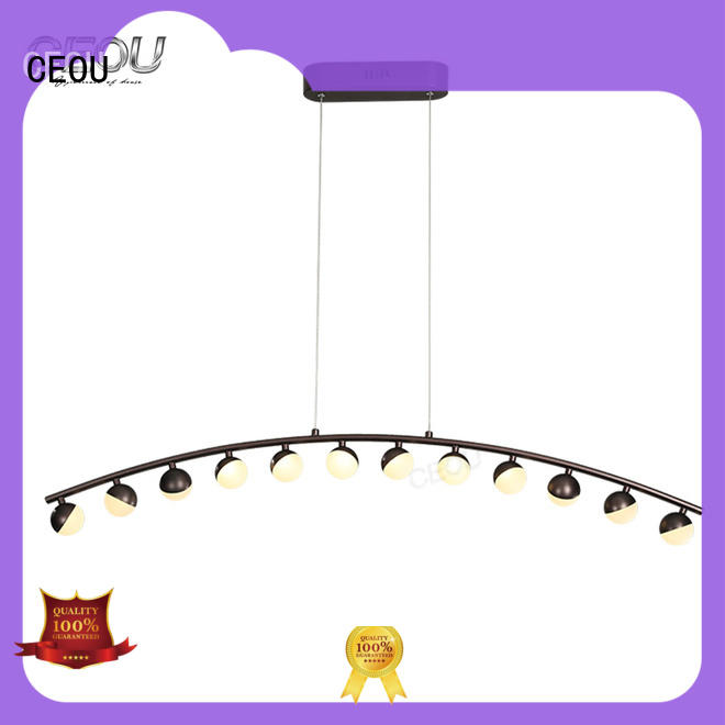 CEOU linear kitchen pendant light fixtures factory for hotel