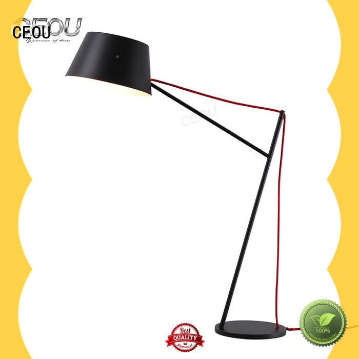 CEOU black glass table lamps company for bedroom