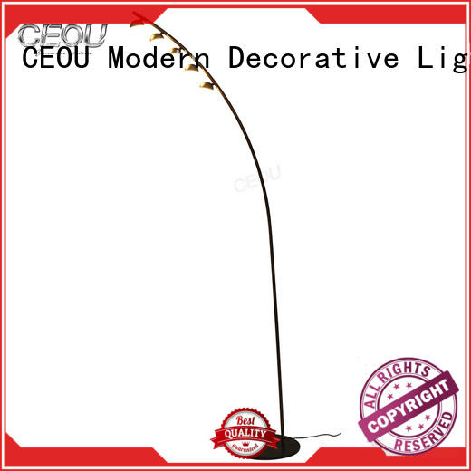 lighting floor lamps Iron manufacturer for living room