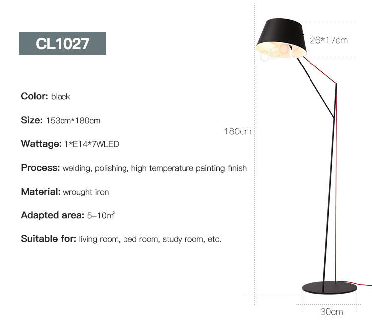 CEOU nordic modern floor lamps manufacturer for living room-3