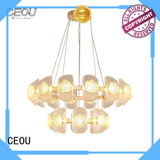 Best pendant light linear glass factory for dinning room