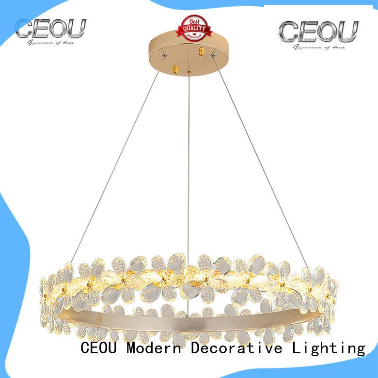 romantic pendant light fixtures aluminum supplier for living room