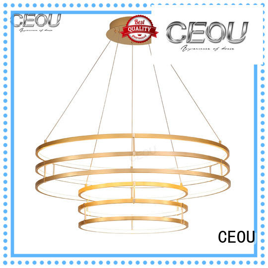 beautiful pendant lamp circular supplier for hotel