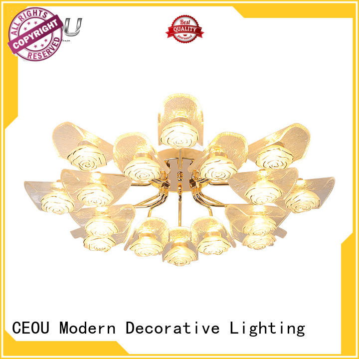 CEOU sand black led ceiling lights online for living room