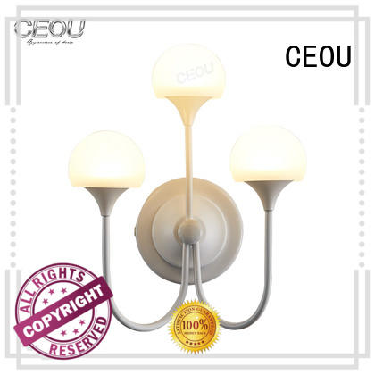 CEOU acrylic wall lamp design customized for living room