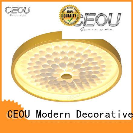 CEOU luxury led ceiling light fixtures supplier for home decor